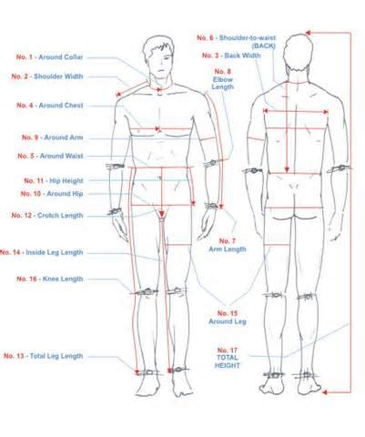 patternmaking for fashion design standard measurement chart body measurement chart yahoo image search results
