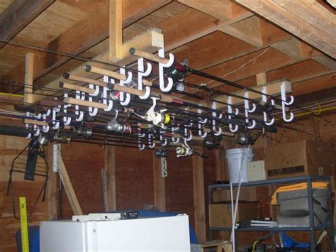 Fishing Pole Garage Storage Ideas 1000 Ideas About Fishing Pole Holder On Pole