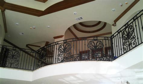 indoor balcony indoor balcony railings traditional hall austin by