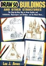 Draw 50 Buildings And Other Structures books for creatives modern mrs darcy