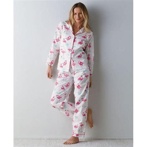 Piyama Satin Velvet Navy Flamingo womens cotton pajamas sets clothing