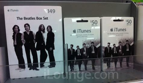 Apple Gift Card International - apple selling beatles gift cards so you ll never forget macstories
