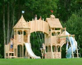 Swing Sets For Small Backyards Kids Castle The Ultimate Kids Playground