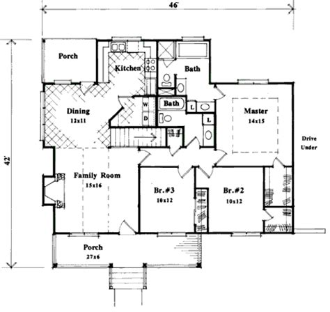 Compact Home Plan For Sloping Lot 8728gm 1st Floor Narrow Lot House Plans With Drive Garage