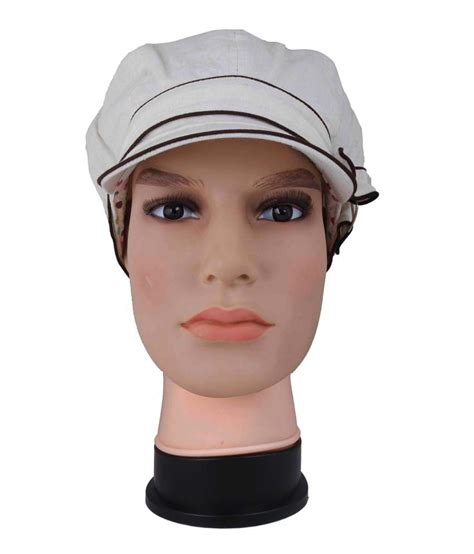 toppers for women snapdeal innovationthestore white cotton beanies cap for women buy