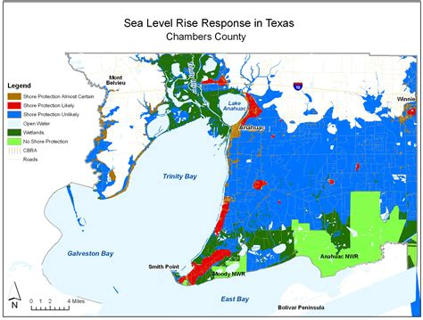 rising texas map sea level rise planning maps likelihood of shore protection in florida