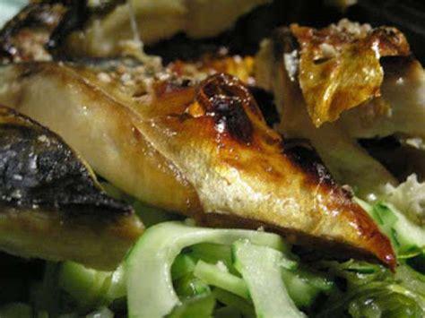 recette cuisine l馮鑽e maquereaux au citron thym romarin a la plancha ou au bbq