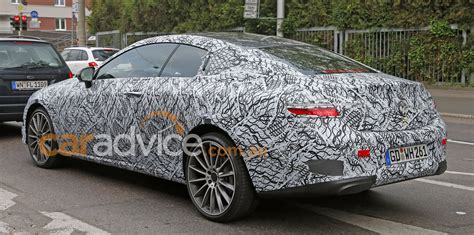 mercedes benz  class coupe spied