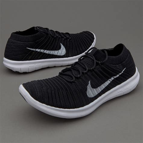Sepatu Lari Nike Womens Free Rn Flyknit 2017 Blue Tint nike air max nike free run motion flyknit black white volt grey womens shoes beautiful