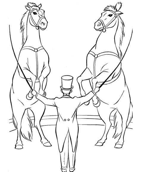 Circus Animals Coloring Pages Free Printable Circus Coloring Pages For Kids
