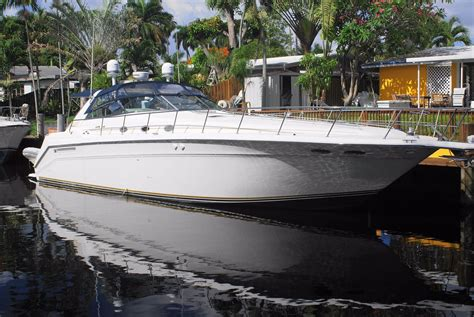 freshwater sea ray boats for sale 1995 sea ray freshwater 500 sundancer with lift power boat