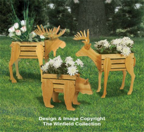 planter woodworking plans small cedar animal planter plans