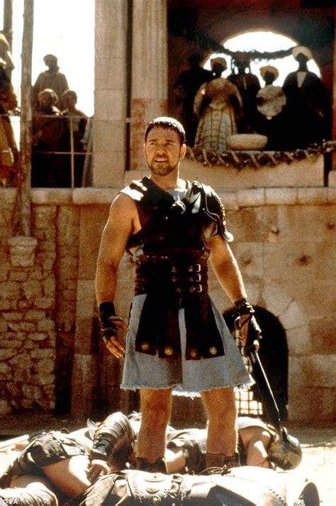 gladiator film length russell crowe watches son play a game of rugby league
