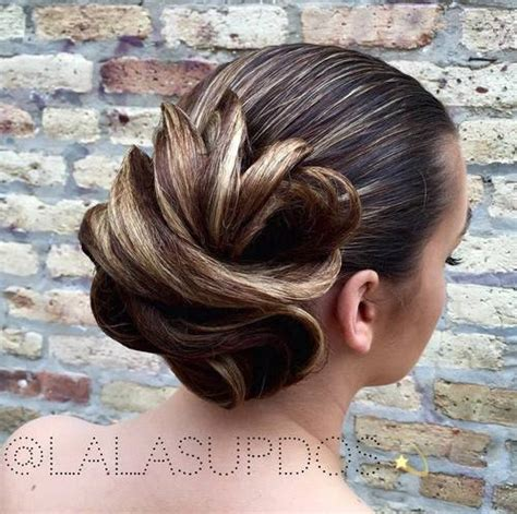 Wedding Hair Sleek Updos by 45 Pretty Ideas For Casual And Formal Bun Hairstyles