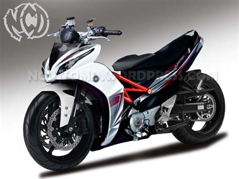 Modifikasi Jupiter Mx Dengan Batok Jupiter Z by Yamaha Jupiter Z1 Custom Performance Ncustomd