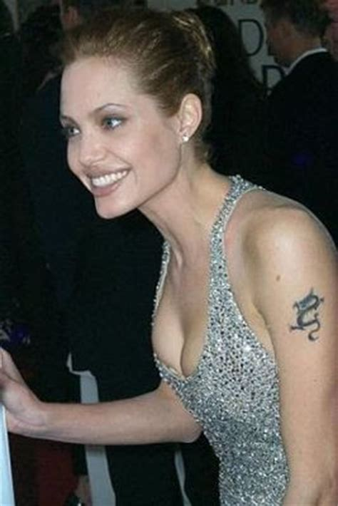 angelina jolie tattoo interview angelina jolie tribal dragon tattoo covered up tattoos