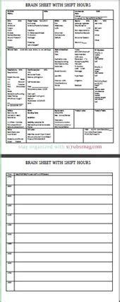 nurse brain sheets nursing stuff nursing sheets