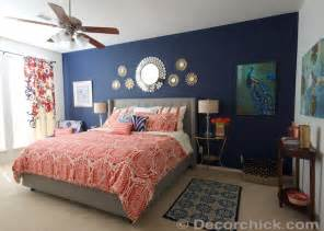 Gallery for gt navy blue and coral bedroom ideas