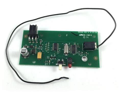 Genie Garage Door Receiver Genie 20437r S 34375r Intellicode Receiver Board