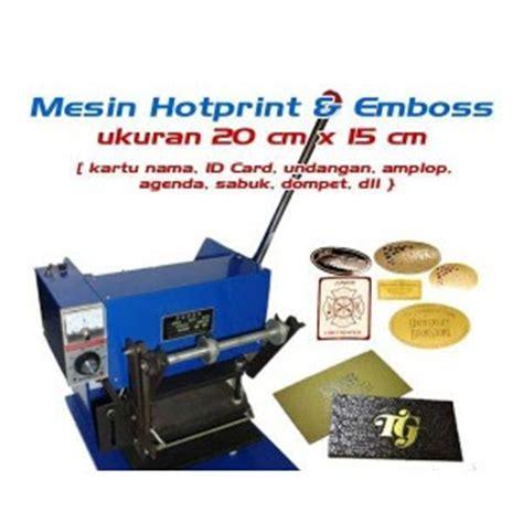 Mesin Pemotong Foil Hotprint Mesin Hotprint Termurah Mesin Cetak Digital Iklan