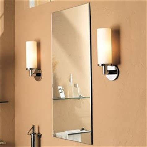 ginger bathroom mirrors amazon com ginger 4641n kubic 16 quot w x 34 quot h beveled