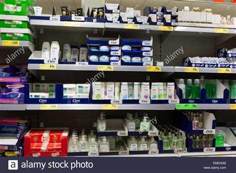 On The Shelf Products by Lidl Own Brand Cien Products On A Shelf In A Lidl