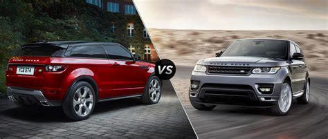range rover sport vs range rover evoque range rover sport vs vogue price