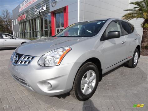 silver nissan rogue 2012 2012 brilliant silver nissan rogue s special edition
