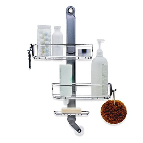 bed bath beyond shower caddy buy simplehuman 174 adjustable shower caddy from bed bath