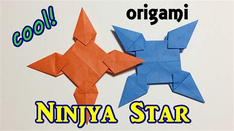 easy but cool origami ninjya 1 of paper