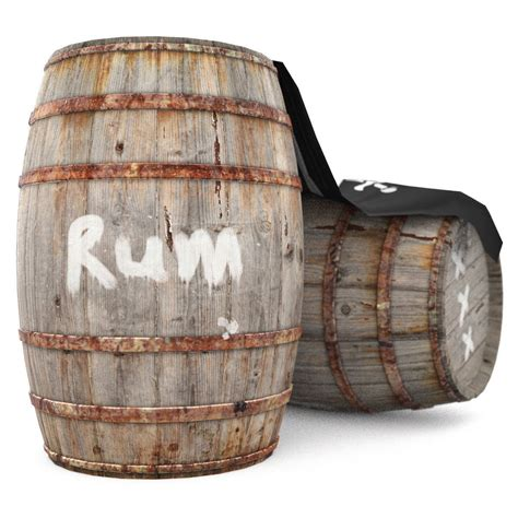 Barrel Pirate by Rum Wooden Barrels Pirate Style 3d Model Obj 3ds Dae
