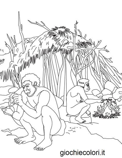 coloring pages early man disegni da colorare disegni da colorare la preistoria e