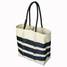 Sailcloth Totes From Flag Design by Sperry Top Sider Sailcloth Medium Tote These Recycled