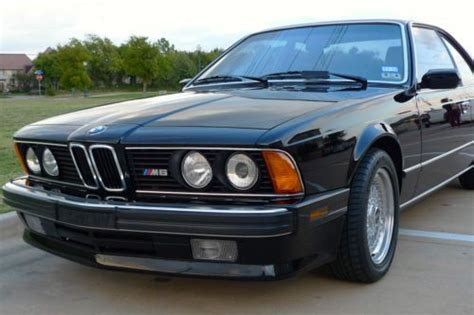 1988 bmw m6 series find used 1988 bmw m6 69k orig miles bbs rs no reserve in