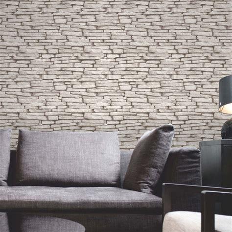 bettdecke ziegelsteine luxus tapete 10m stein ziegelstein holz schiefer optik