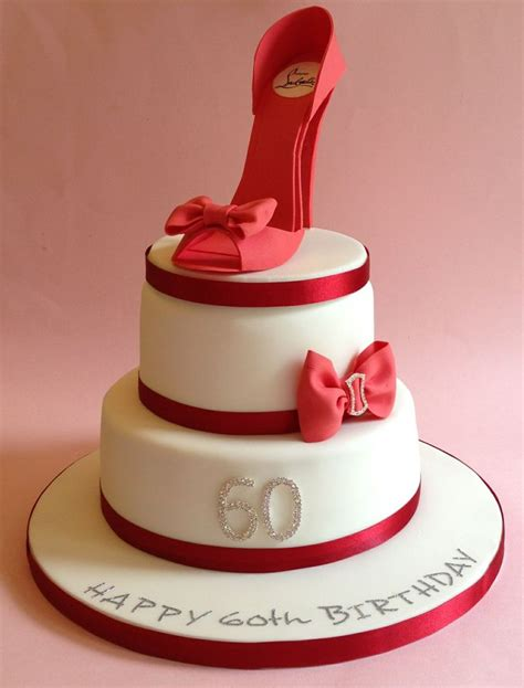 themed birthday cakes uk shoe themed 60th birthday cake www vintagehousebakery co