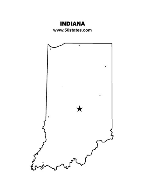 Indiana Find Indiana Map