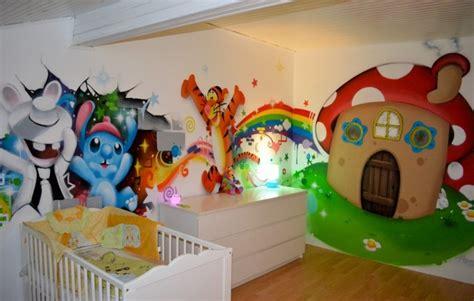 id馥 d馗oration chambre enfant d 233 coration de chambre enfant photo 1 2 fresque