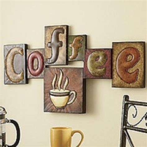 coffee home decor kitchen designs retro coffee sign poster decorating with