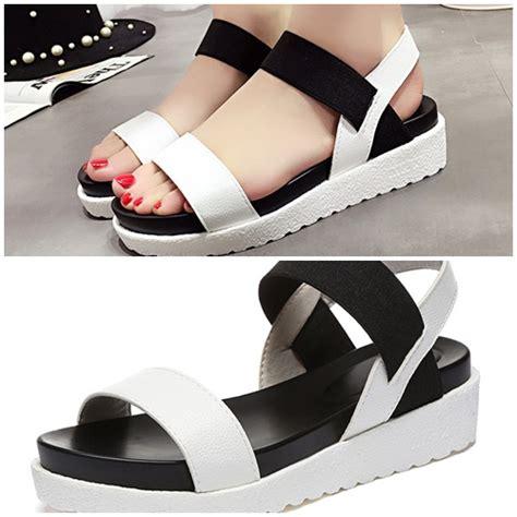 Sepatu High Heels Wanita 5cm Uc03 jual shw810 white sepatu wedges cantik wanita 4 5cm