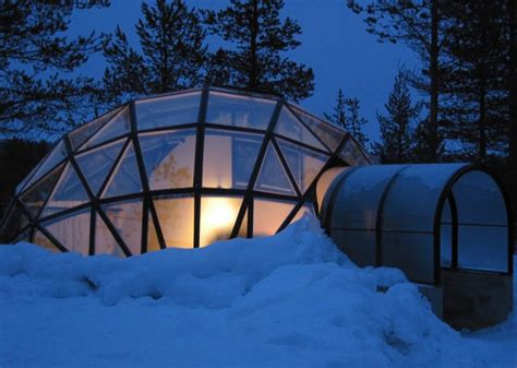 northern lights iceland igloo thermal glass igloos offer views of the northern lights at