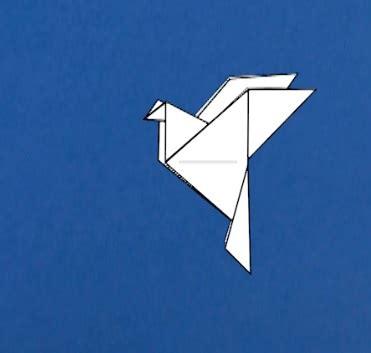 origami peace dove tavin s origami