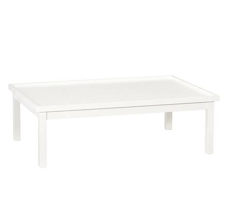 pottery barn carolina activity table carolina activity table low simply white pottery barn