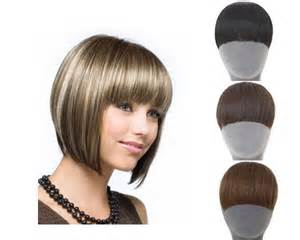 clip on bangs for american hair natural bang fringe false hair bangs black light brown