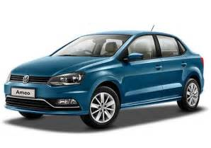 cost of new cars new volkswagen ameo price 2017 review pics specs