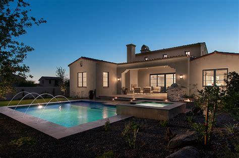 Calvis Wyant Luxury Homes Park Place At Silverleaf Mediterranean Exterior By Calvis Wyant Luxury Homes