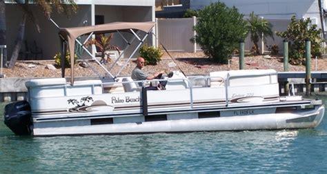 pontoon boats palm beach palm beach pontoons boat covers
