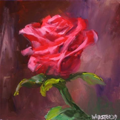 acrylic painting roses by any other name triptych 2 painting daily