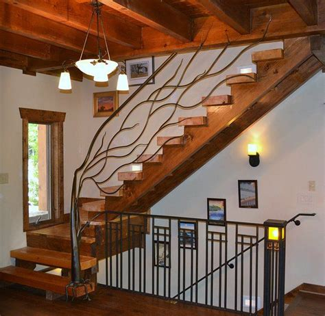 Stair Banister And Railings Tree Branch Railing Ornamental Iron Railing Tree