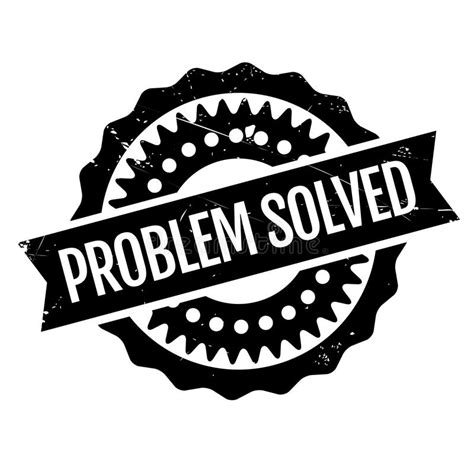 8 problems that can be easily solved by machine learning problem solved rubber st stock vector illustration of